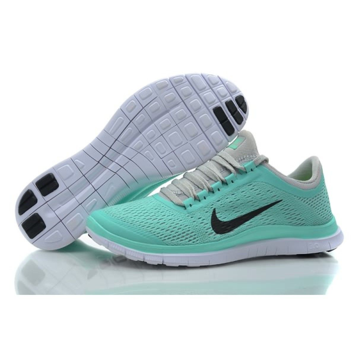 814f0545dc81 Nike Free 3.0 V5 Women's Running shoes Crystal Mint for sale ...