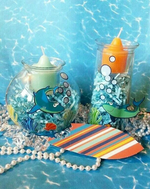 PartyLite Under the Sea Clearly Creative