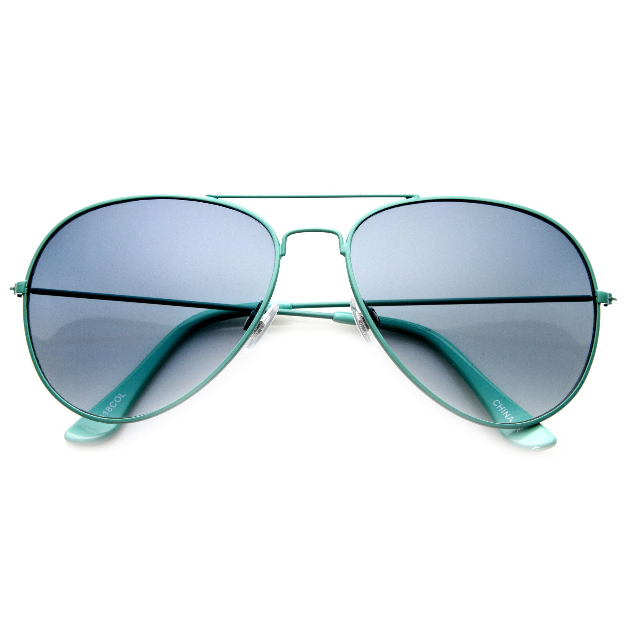 382c2b8aa4927 Description - Measurements - Shipping - Classic metal teardrop aviator with  eye catching colored frames