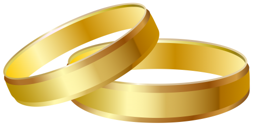 Gold Wedding Rings PNG Clip Art   Best WEB Clipart