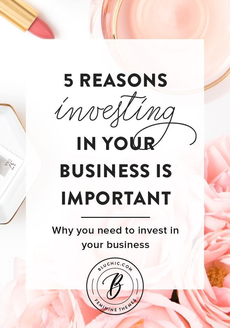 Why Investing In Your Business Is Important is part of Investing, Investment tips, Business investment, Small business marketing, Business advice, Small business finance - Learn why investing in your business is so important! Whether you're investing in products or outsourcing tasks, spending the money is worth it