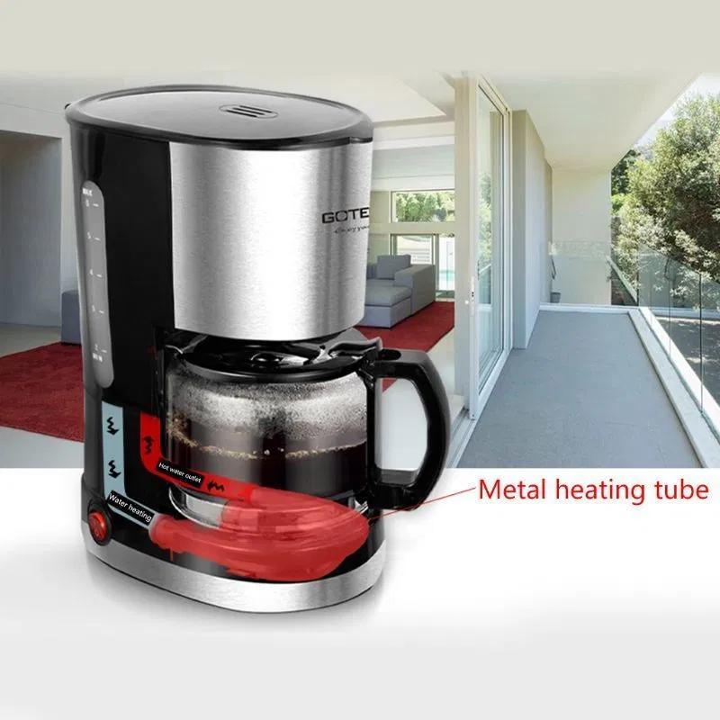 Full Automatic Drip Coffee Maker American Coffee Grinder Anti Drip