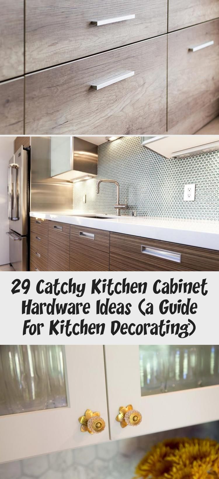 29 Catchy Kitchen Cabinet Hardware Ideas a Guide For Kitchen Decorating  Kitccabinet