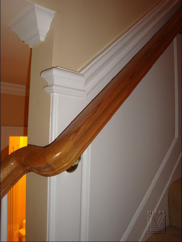 Option For Ending The Paneling On The Stairs Very Nice