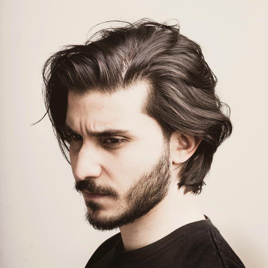 types of haircuts for men   men's haircuts   long hair