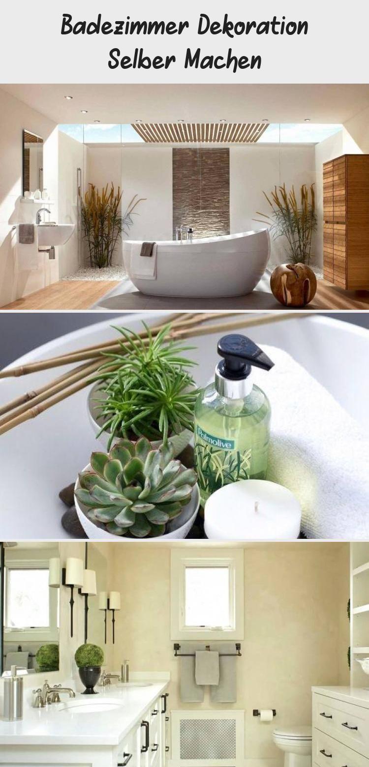 Badezimmer Dekoration Selber Machen Bathroom Bathtub