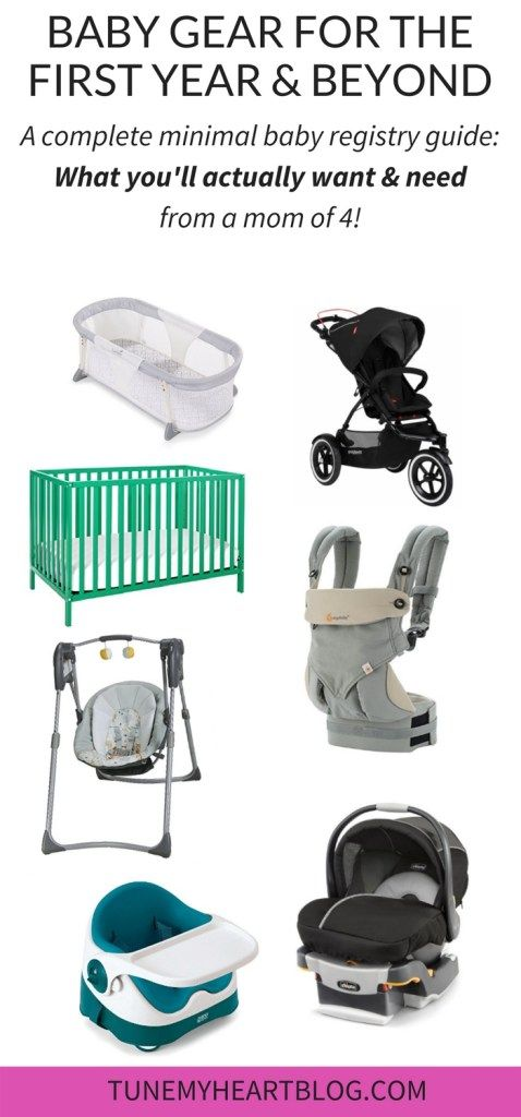 Minimalist Baby Registry Essentials From a Mom of 4 - Minimalist - baby registry checklists