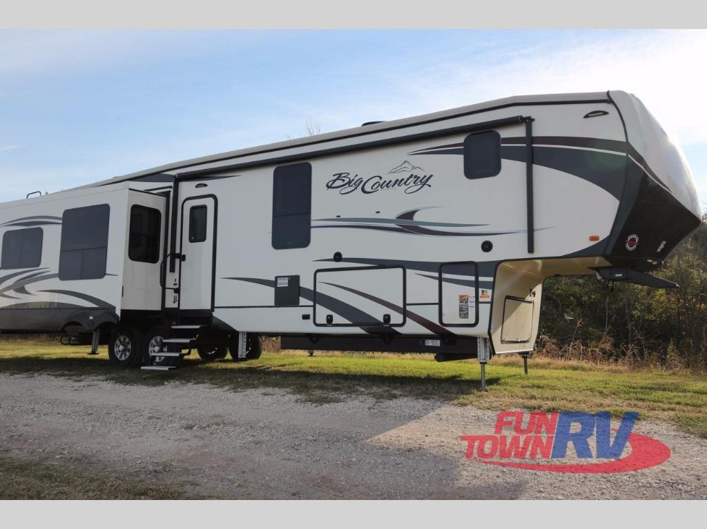 New 2018 Heartland Big Country 3950fb Fifth Wheel At Fun Town Rv Cleburne Tx 143466 Big Country Fifth Wheels For Sale Fifth Wheel