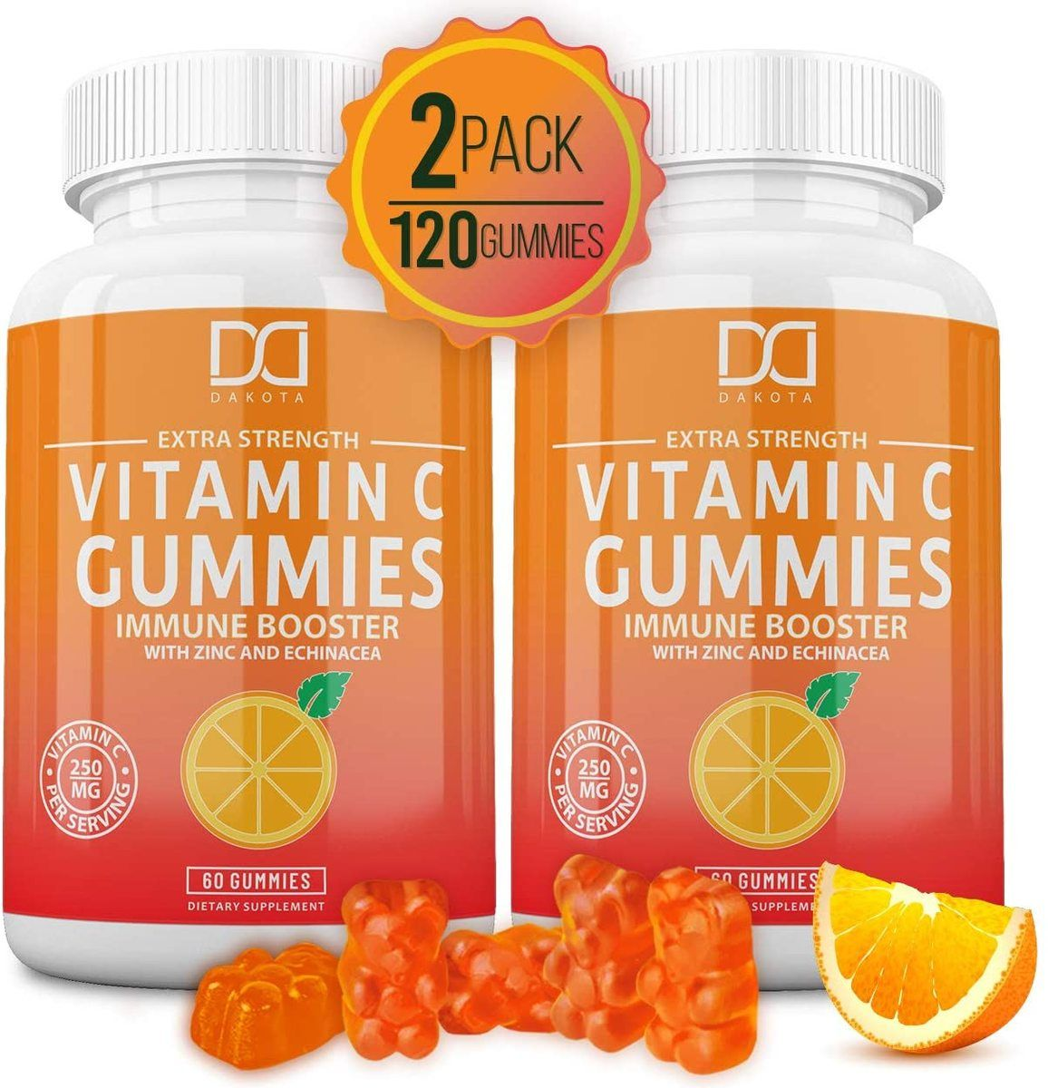 Vitamin C Gummies with Zinc for Immune Support. in 2020