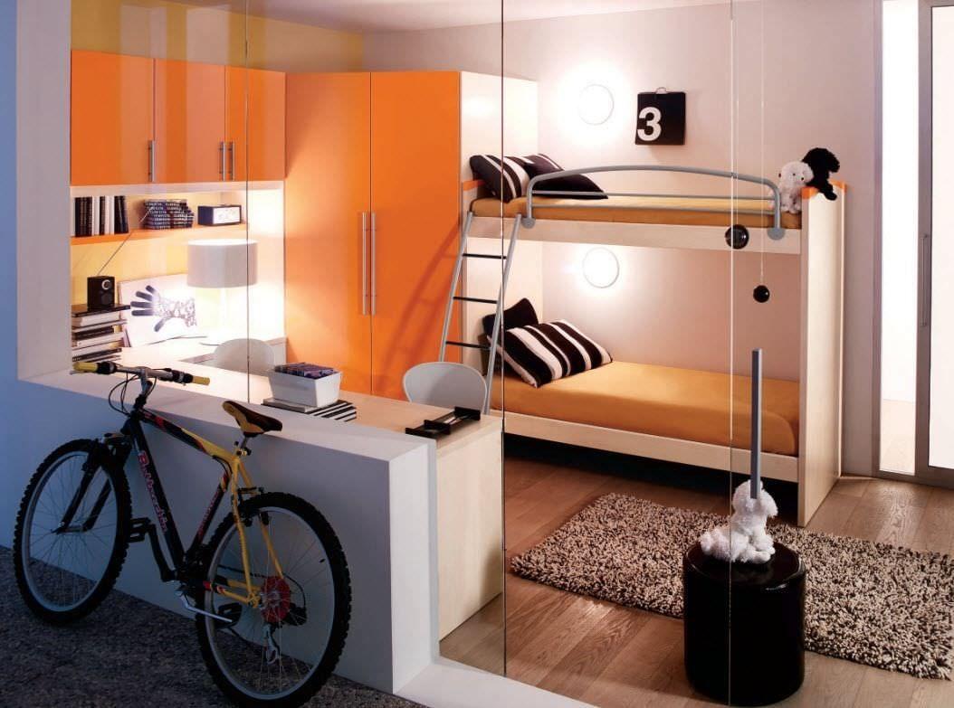 Furniture: Entrancing Unisex Teenage Bedroom Decoration With