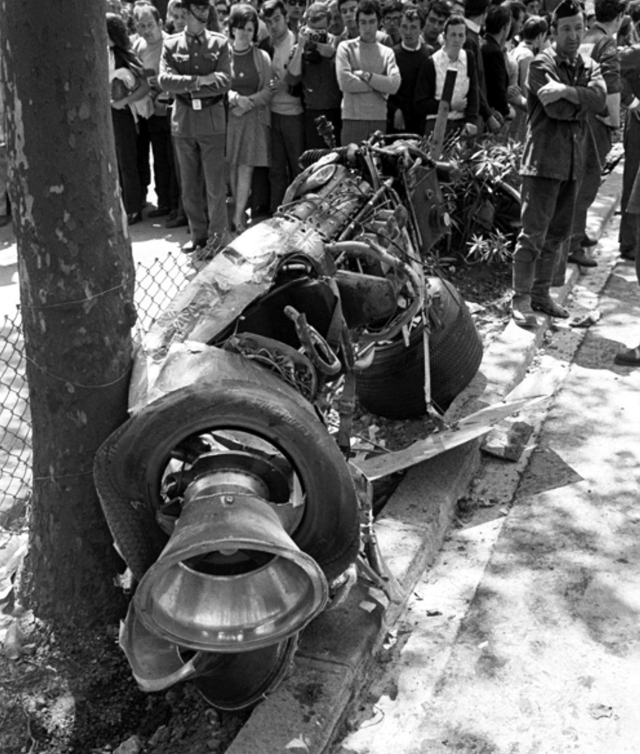 1969 Restos Del Lotus 49b Ford Cosworth V8 De Jochen