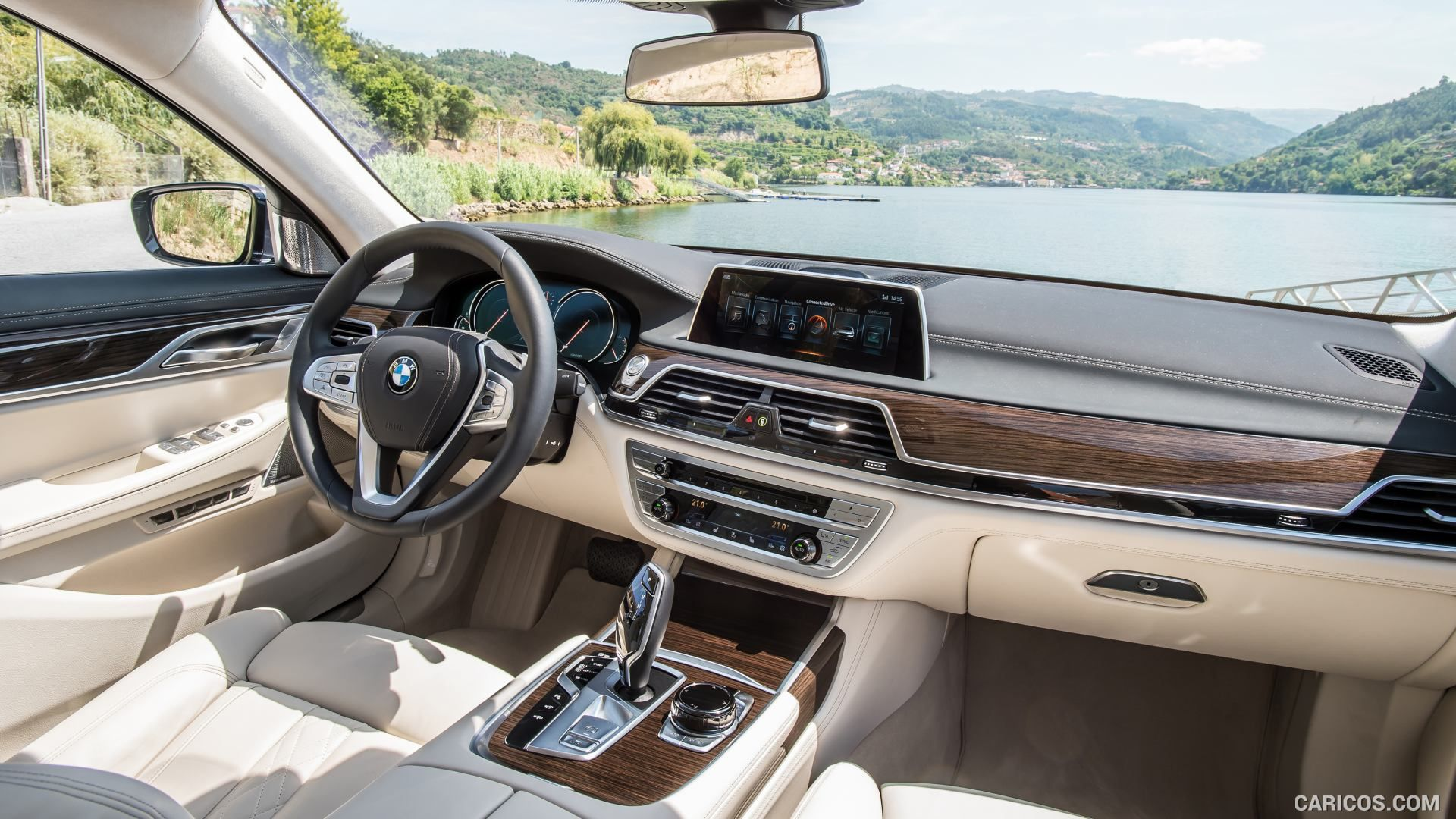 2016 Bmw 7 Series 730d Interior Dashboard Hd Wallpaper 236
