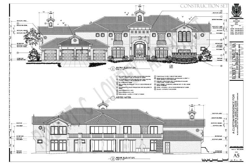 Collection Of Construction Drawings Elevation Drawing Construction Drawings Exterior