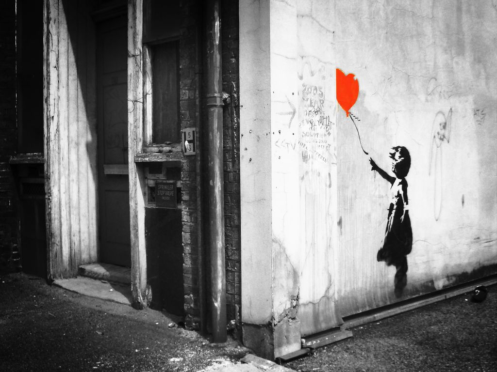 Banksy works of art i want pinterest banksy and street art