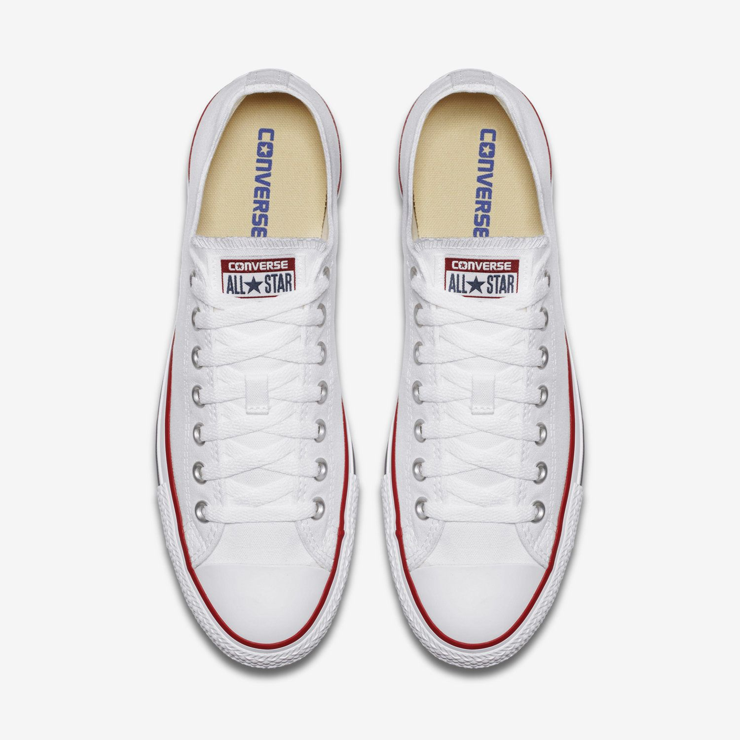 8768906e81fa Womens Converse White Chuck Taylor All Star Ox Low Top M7652 ...