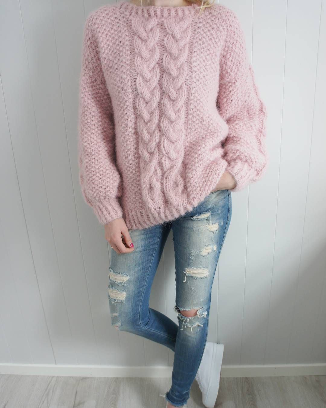 5f81d4ca Another super soft and cozy mohair poppygenseren tonegenseren sweater