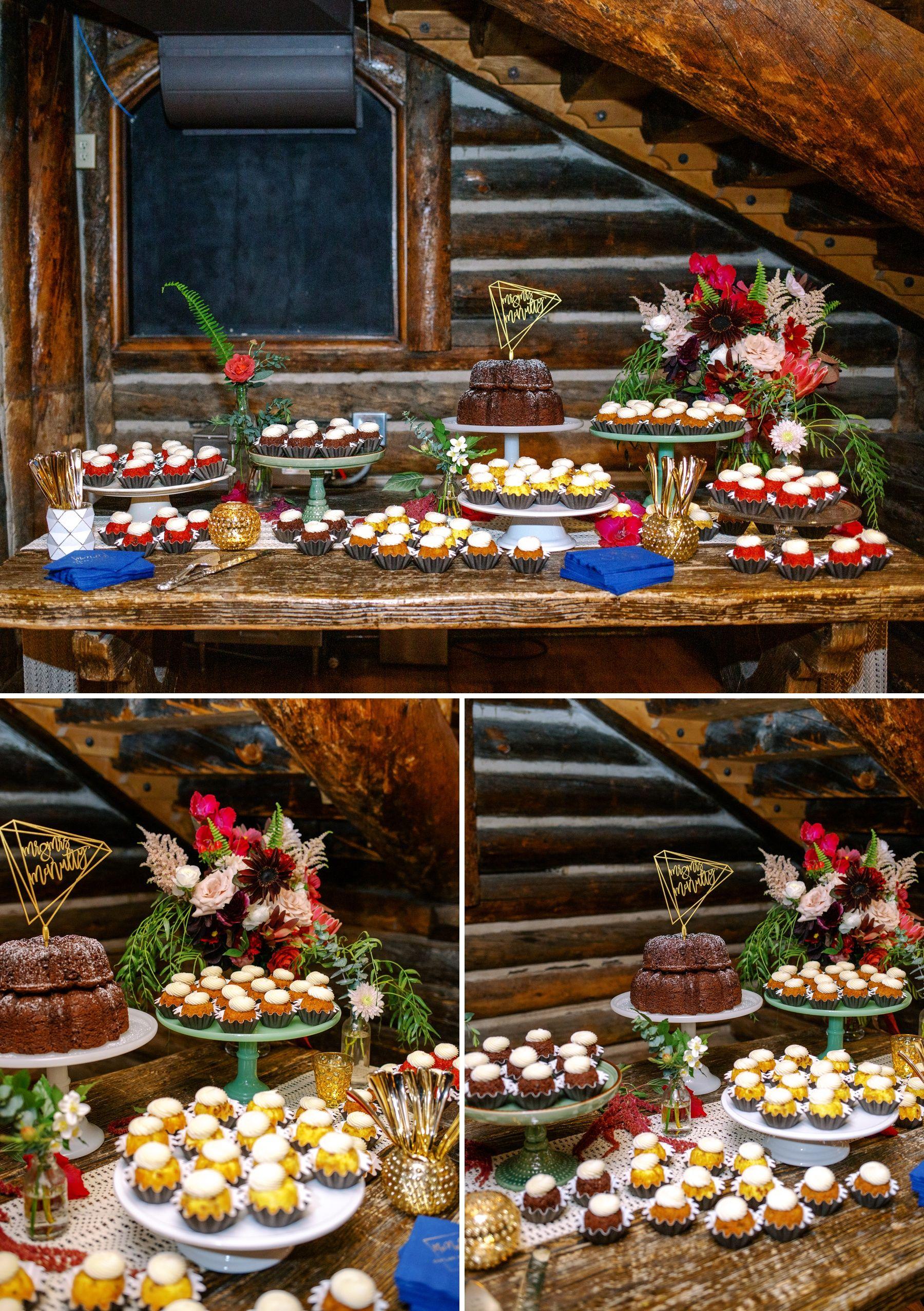 Nothing bundt cake wedding cake colorado springs wedding