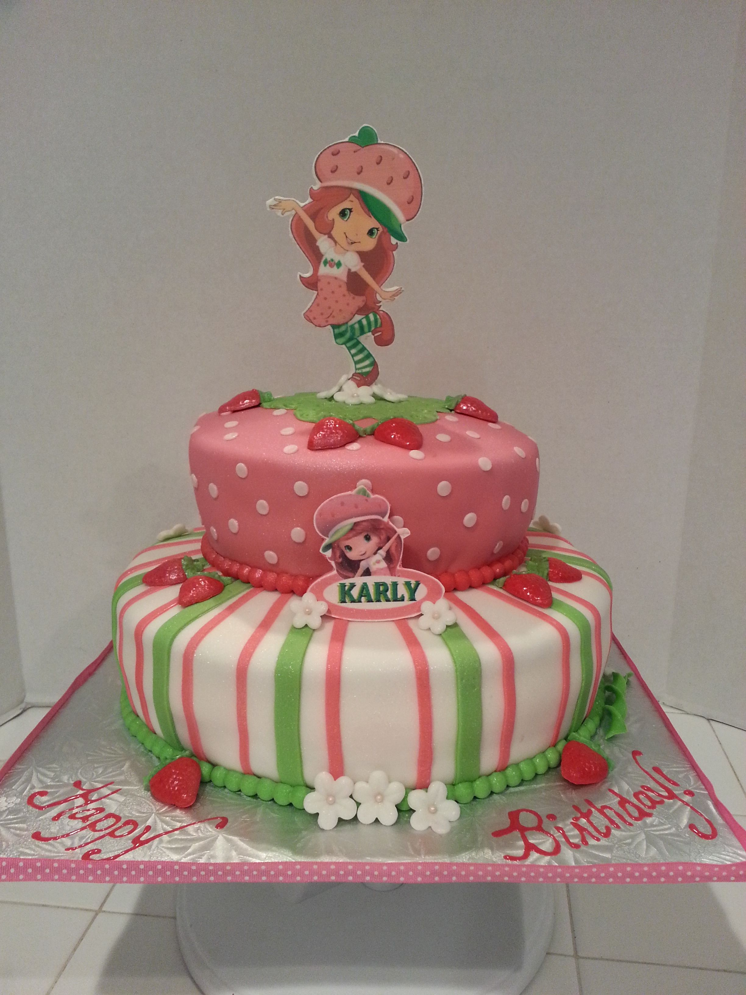 Childrens Birthday Cakes Strawberry Shortcake Books Worth