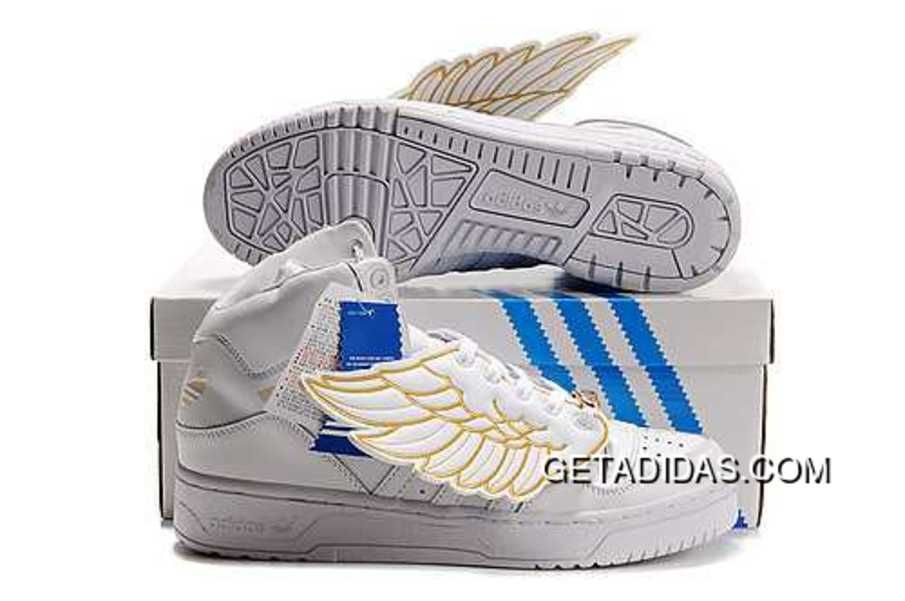 sports shoes 5d95b fc325 http   www.getadidas.com adidas-jeremy-scott-wings-shoes-gold-white-hard-wearing-in-stock-365day-return-sneaker-topdeals.html  ADIDAS JEREMY SCOTT W  ...