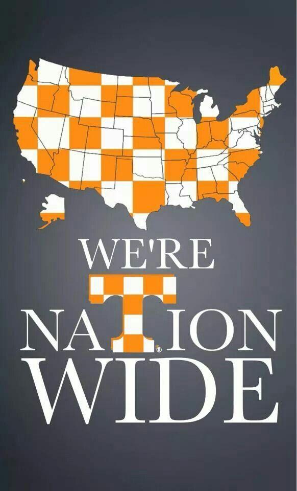 We Always Have Been 4 Ever Tennessee Volunteers Football Tennessee Football Tennessee Girls