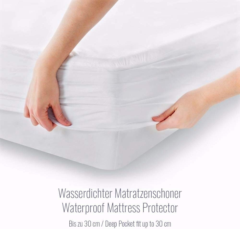 Melunda Coprimaterasso Impermeabile Antibatterico 200 X 200 Cm Anallergico E Antiacaro T In 2020 Mattress Protector Waterproof Mattress Waterproof Mattress Cover