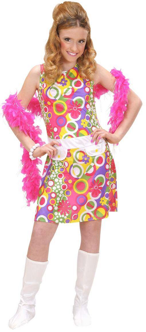 Disfraz hippie para ni a disponible en for Disfraces de los anos 60