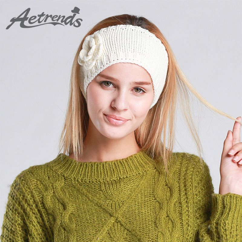 AETRENDS] 2016 Winter Stricken Haarband Turban Stirnband Haarschmuck ...