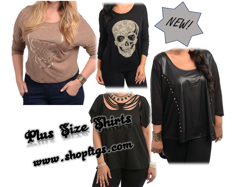 Plus Size Bad Ass Fashion from Fuck That Girly Shit. #skulls