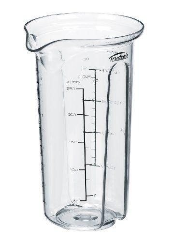 Trudeau Measuring Beaker By Trudeau 6 39 Dishwasher And Microwave Safe Measuring Beaker By Trudeau Graduated D Beaker Kitchen Cups Kitchen Measuring Tools
