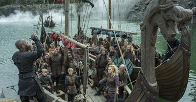 VIKINGS: Season 4 premiere Vikings: Portage with SPOILERS