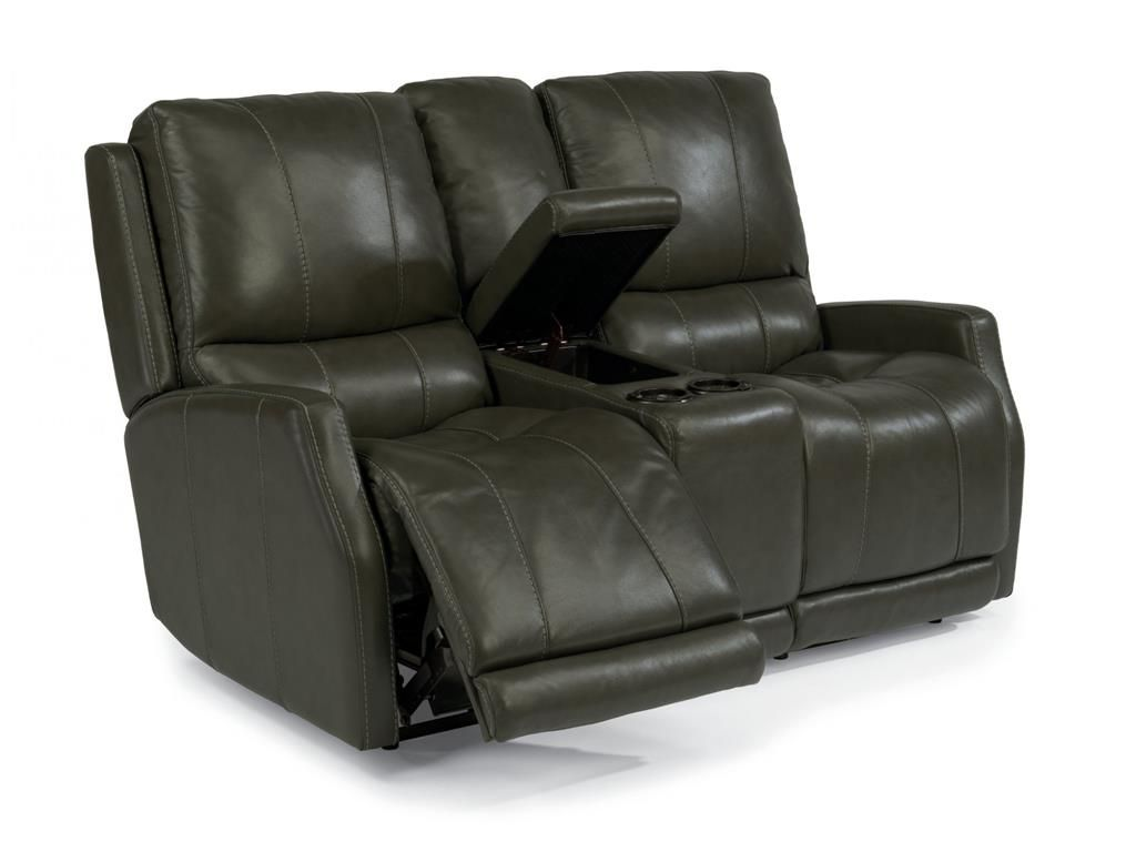 Miraculous Flexsteel Leather Power Reclining Loveseat With Console 1319 Pdpeps Interior Chair Design Pdpepsorg