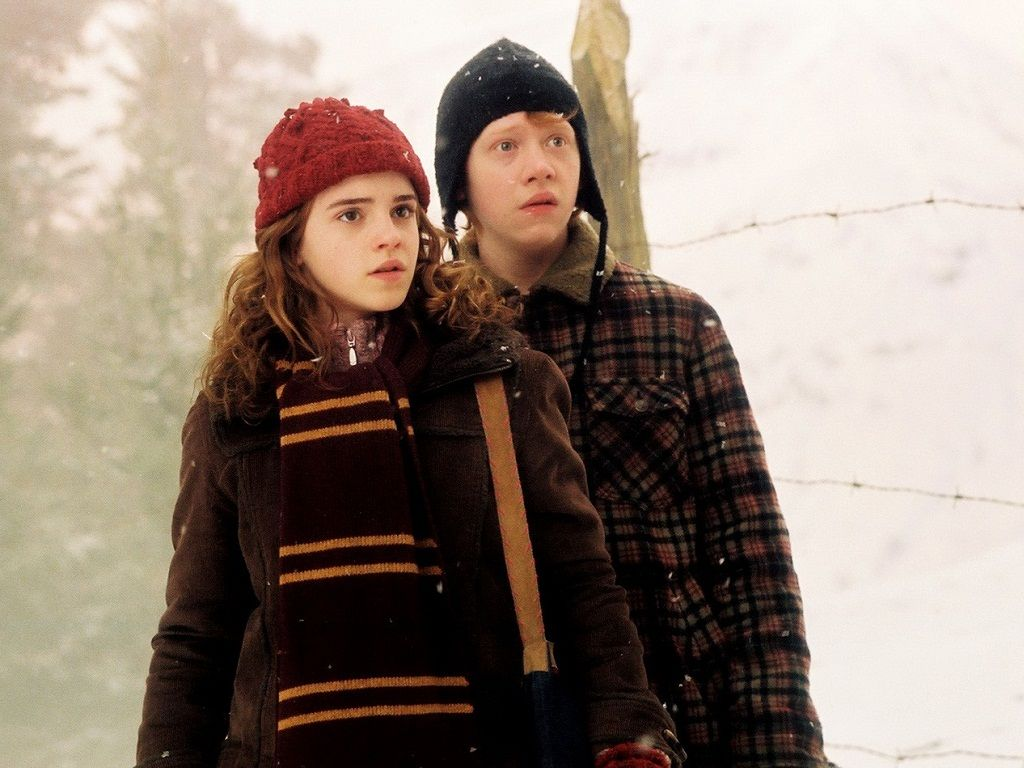 Are Ron Weasley and Hermione Granger dating in real life