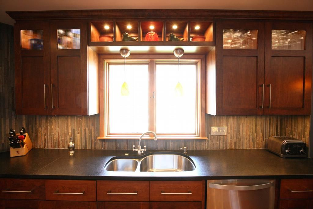 cherry cabinets with granite countertops | Cherry Cabinets with ...