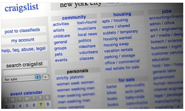 15 Ways you Can be Scammed via Craigslist | Story I liked