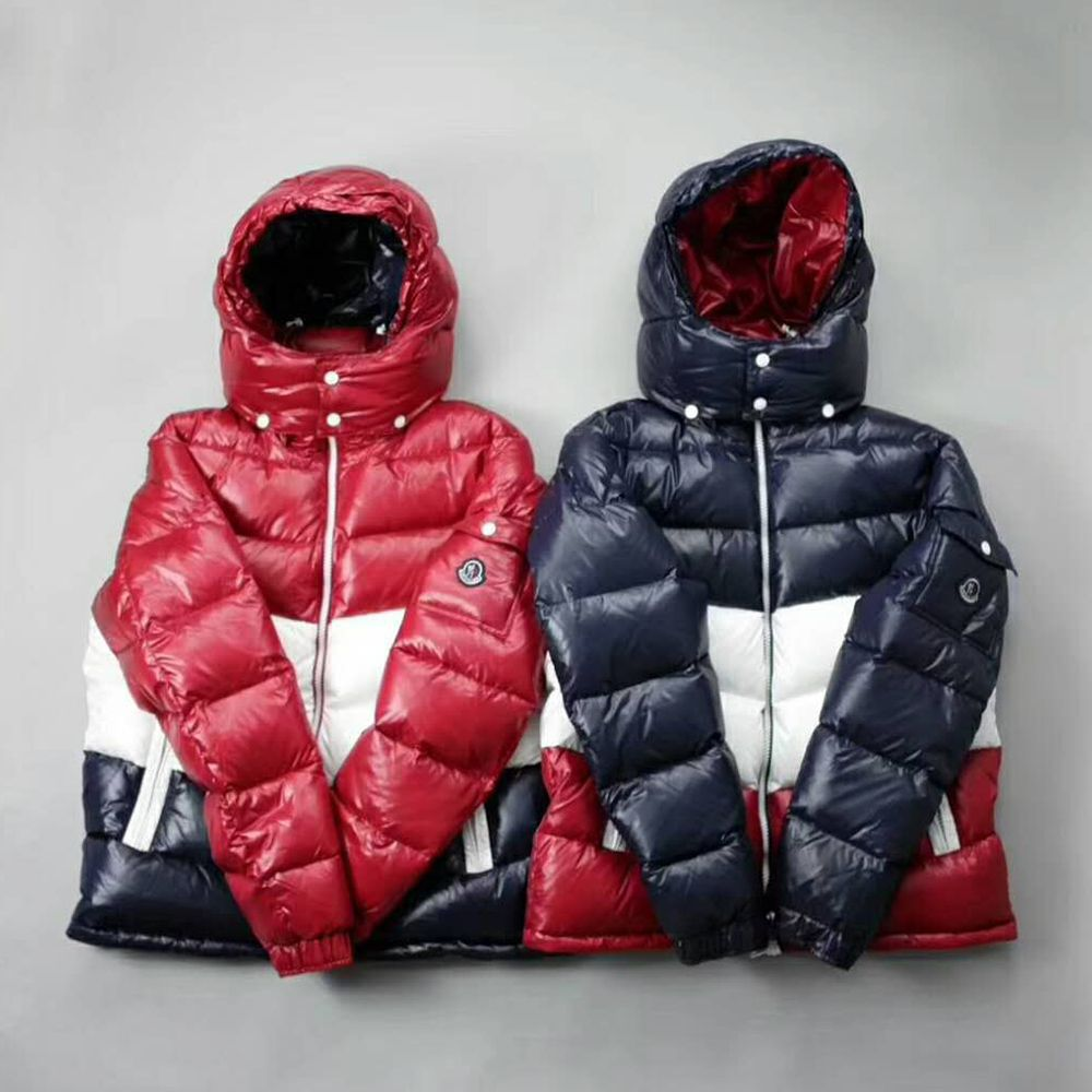 3539a45d2 Kith x Moncler Rochebrune Classic Down Jacket Red/White/Navy 150usd ...