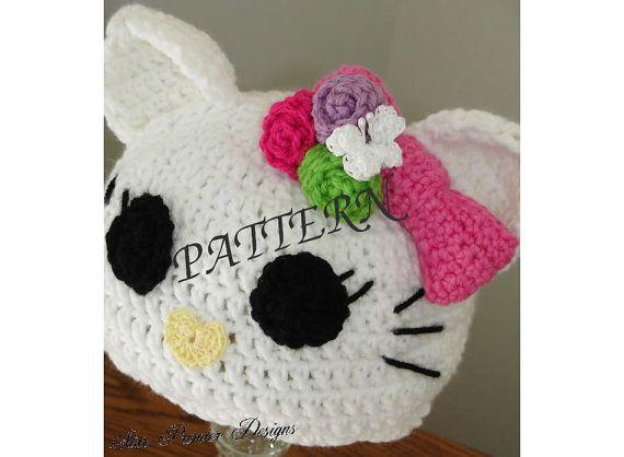 Cutsie Hello Kitty Crochet Pattern by StarPremierDesigns on Etsy ...