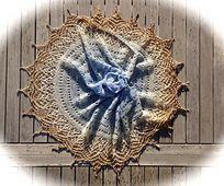 Ravelry: Doria13's Nina's garden Yarn: Silk Dreams - Blue Bunny ombre