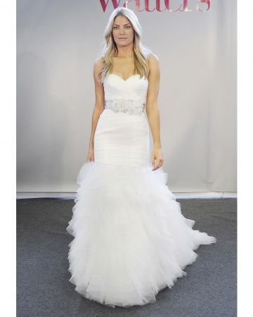 I believe I've seen this on Say Yes To The Dress before..........