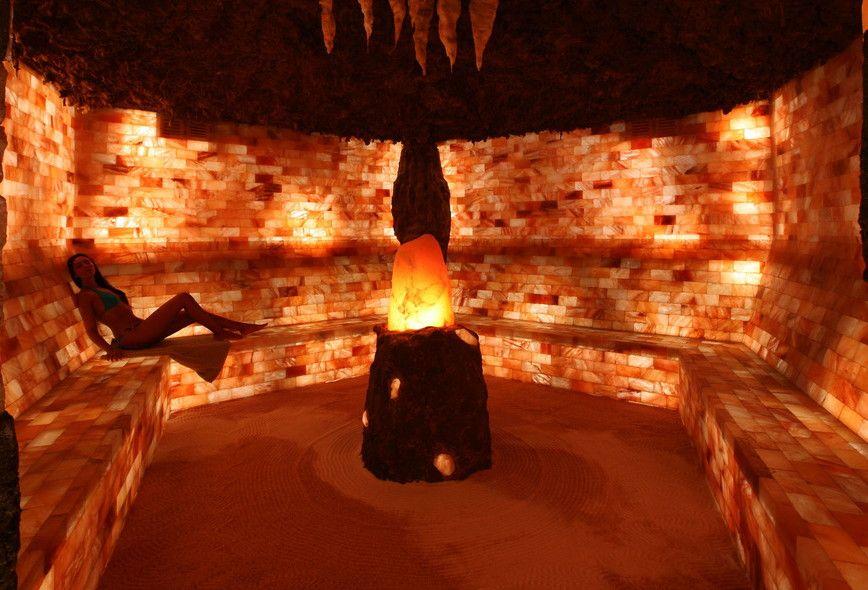 Salt Cave Wall Blocks Bricks Himalayan Salt Boutique Salt Room Therapy Himalayan Salt Room Salt Cave