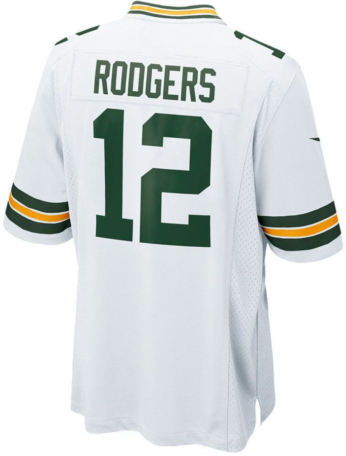Nike Men s Aaron Rodgers Green Bay Packers Game Jersey 6e5bc2fe0