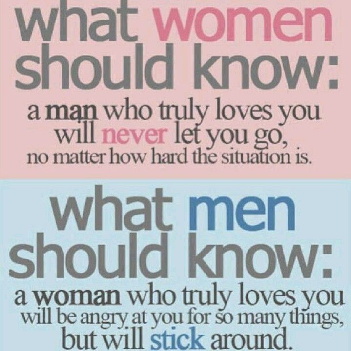 What Men And Women Shoud Know Words And Lyrics True Love Quotes