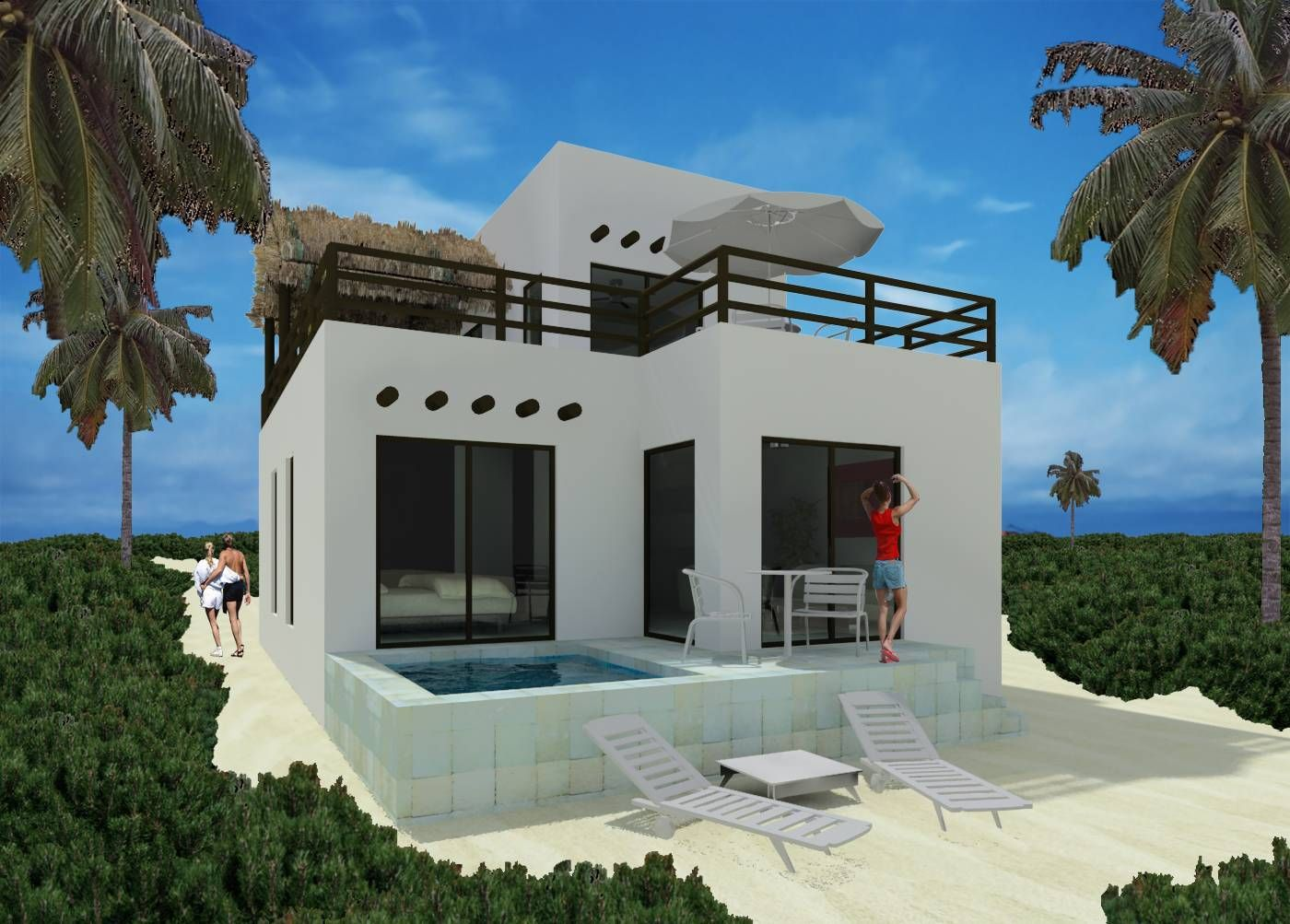For Mexico Beach House In Sisal Yucatan 197000 Usd Md1029658 Houses