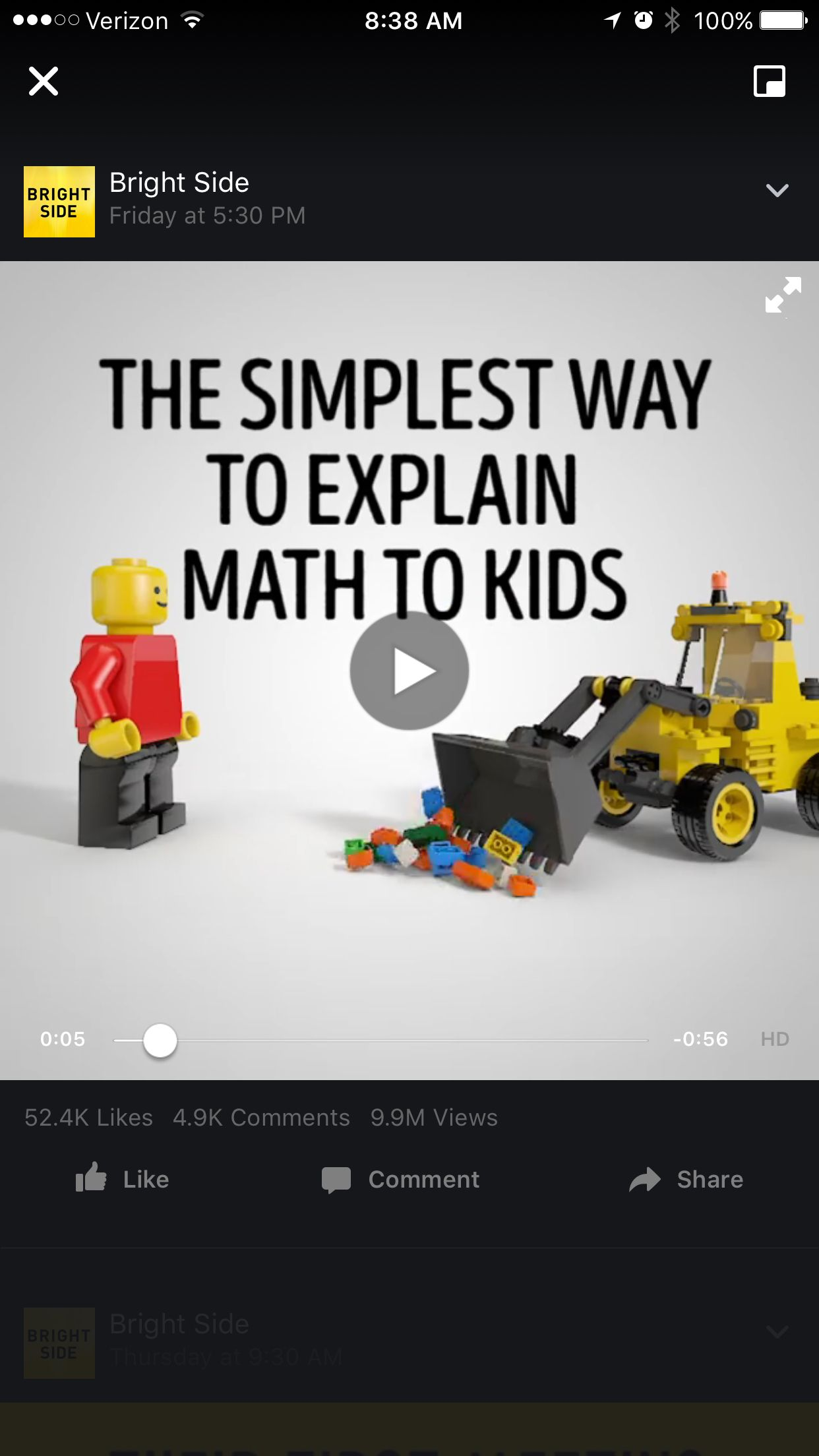 Lego Video The Simplest Way To Explain Math To Kids