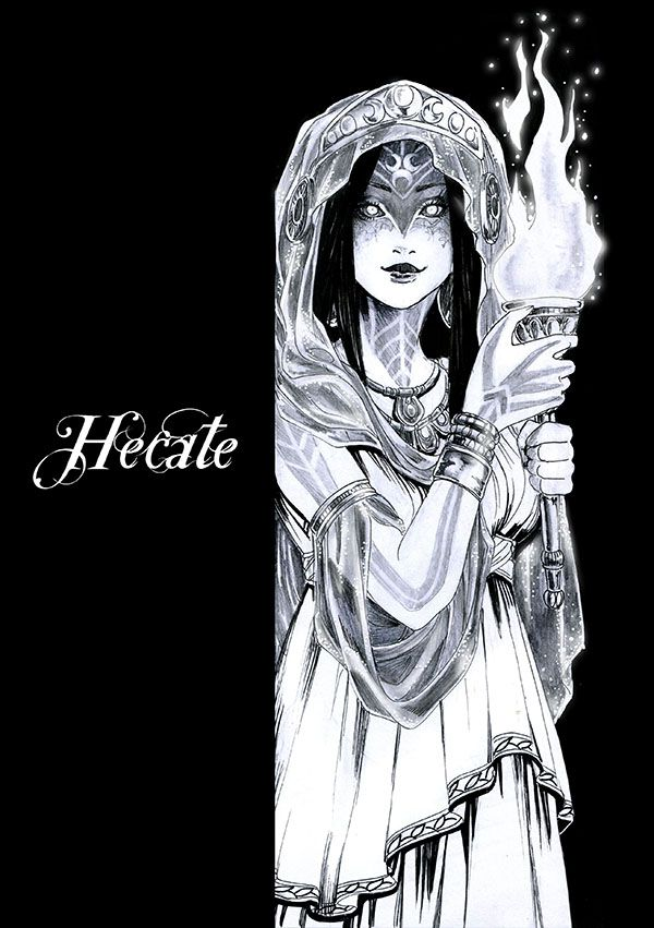 Hecate Neo Spirituality Pinterest Mythology