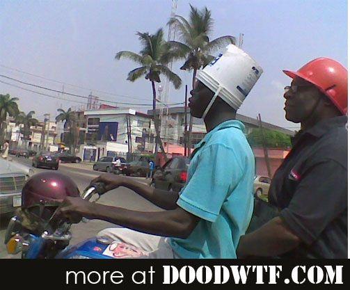 Motorcycle Bike Helmet Bucket Style With Images Funny Meme
