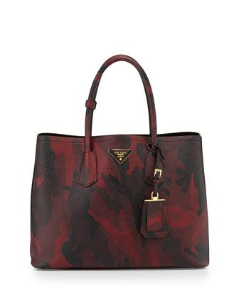 Saffiano+Cuir+Camouflage+Double+Bag bbd5b07212d6e