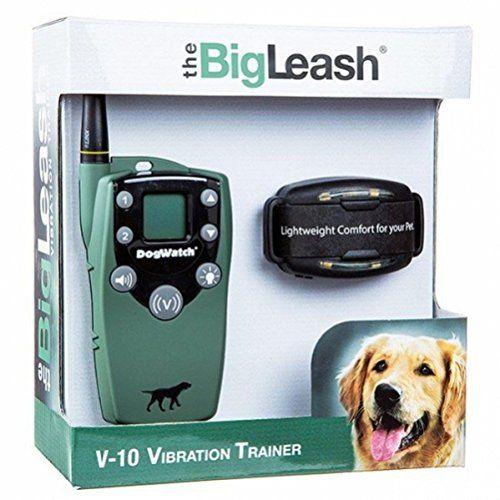 The Bigleash V 10 Vibration Dog Training Collar With Firefly
