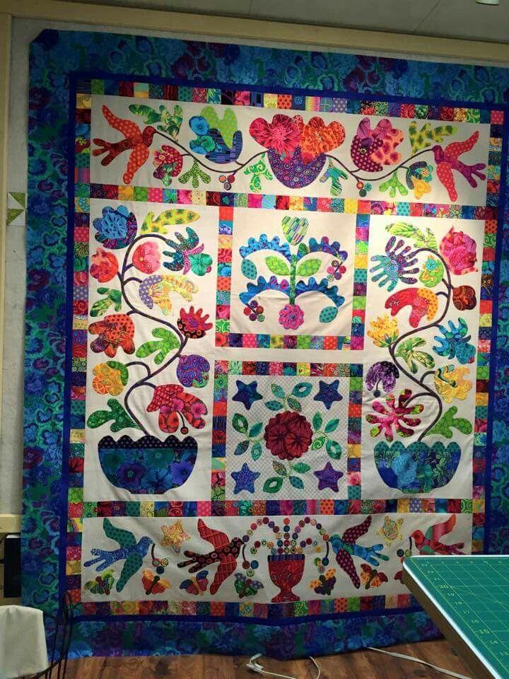 Kim Mclean Quilt Patterns.Kim Mclean Flower Pot Applique Quilts Flower Quilts