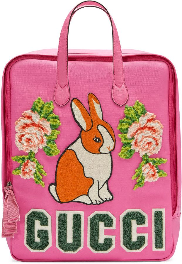 3be8d08b6 Children's canvas backpack with rabbit $1,390 (pay rent or buy kid a  backpack?)