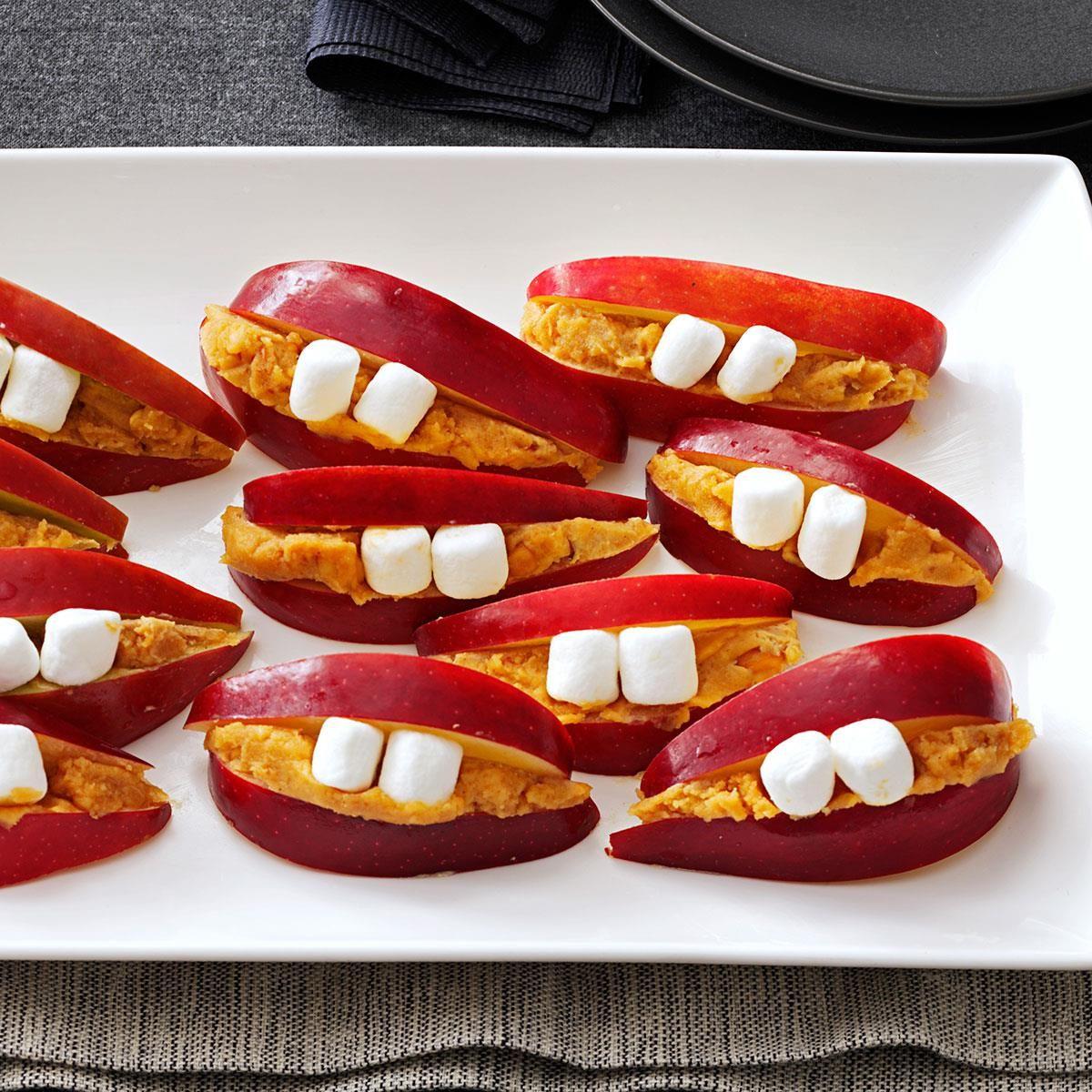 Li'l Lips Recipe Halloween finger foods, Food, Food